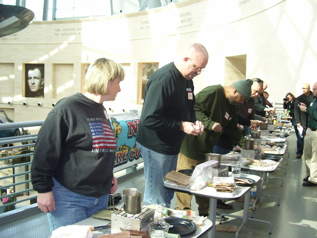 Chefs make the best of it at MRE cookoff
