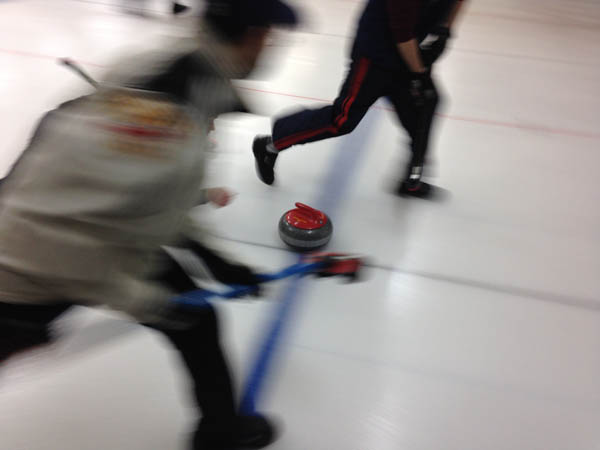 Local curlers say Olympic sport like 'high-tech checkers'