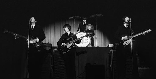 The Beatles 50 years later (Photos)