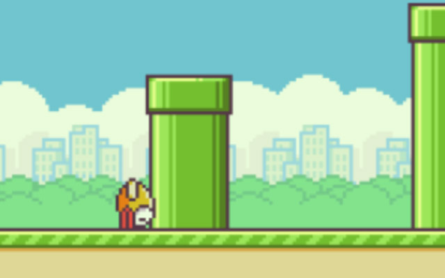 Game over: Flappy Bird grounds itself