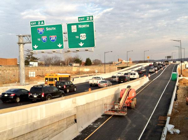 Flyover bridge unveiled in Southeast D.C.