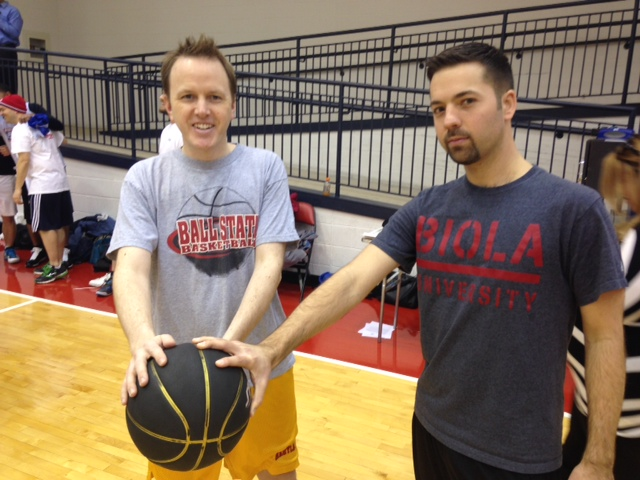 WTOP takes on the Wizards' shootout (Video)