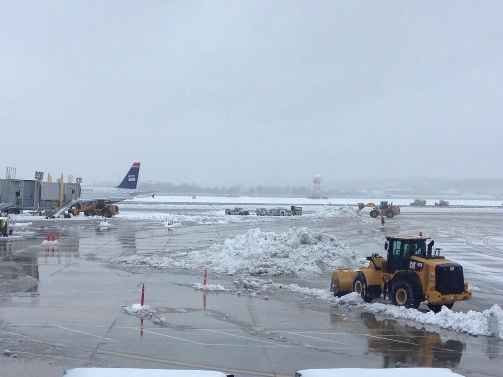 Flight cancellations will affect area for days