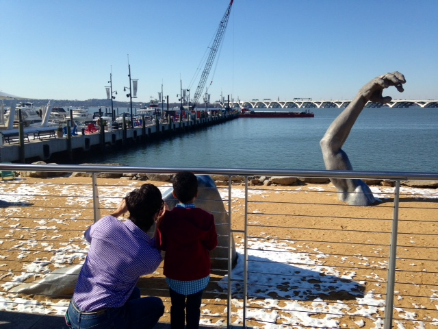 Construction begins on Capital Wheel in National Harbor