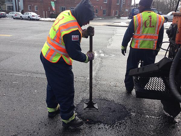 D.C. region potholes worst since 2010