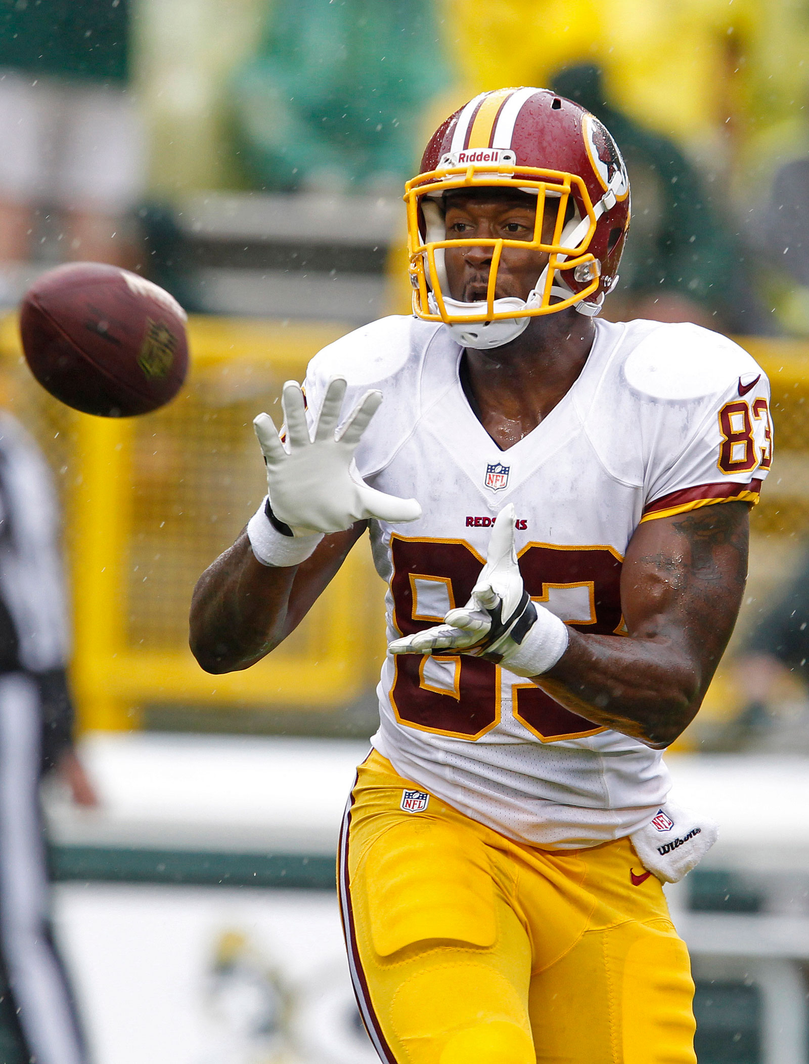 Report: Redskins' TE Davis charged with DUI