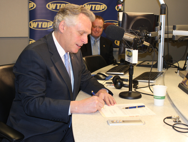 Gov. Terry McAuliffe eliminates hybrid vehicle tax during Ask the Governor