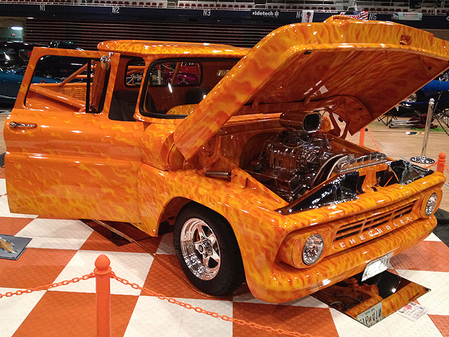 Car Show Opens To Benefit Wounded Servicemembers WTOP - Thomas chevy car show
