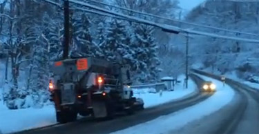 Arlington driver removed from duty for plowing in wrong direction