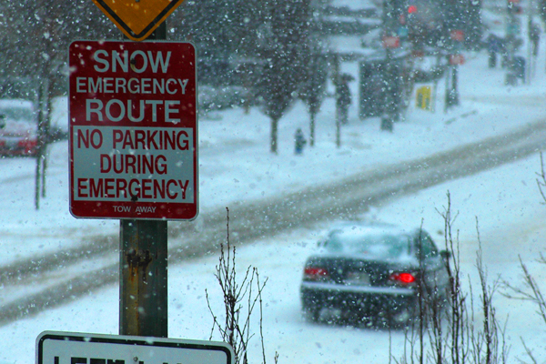 Snow parking fines slam more than 1,000 drivers