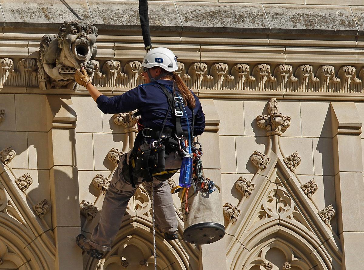Work on damaged National Cathedral begins next week