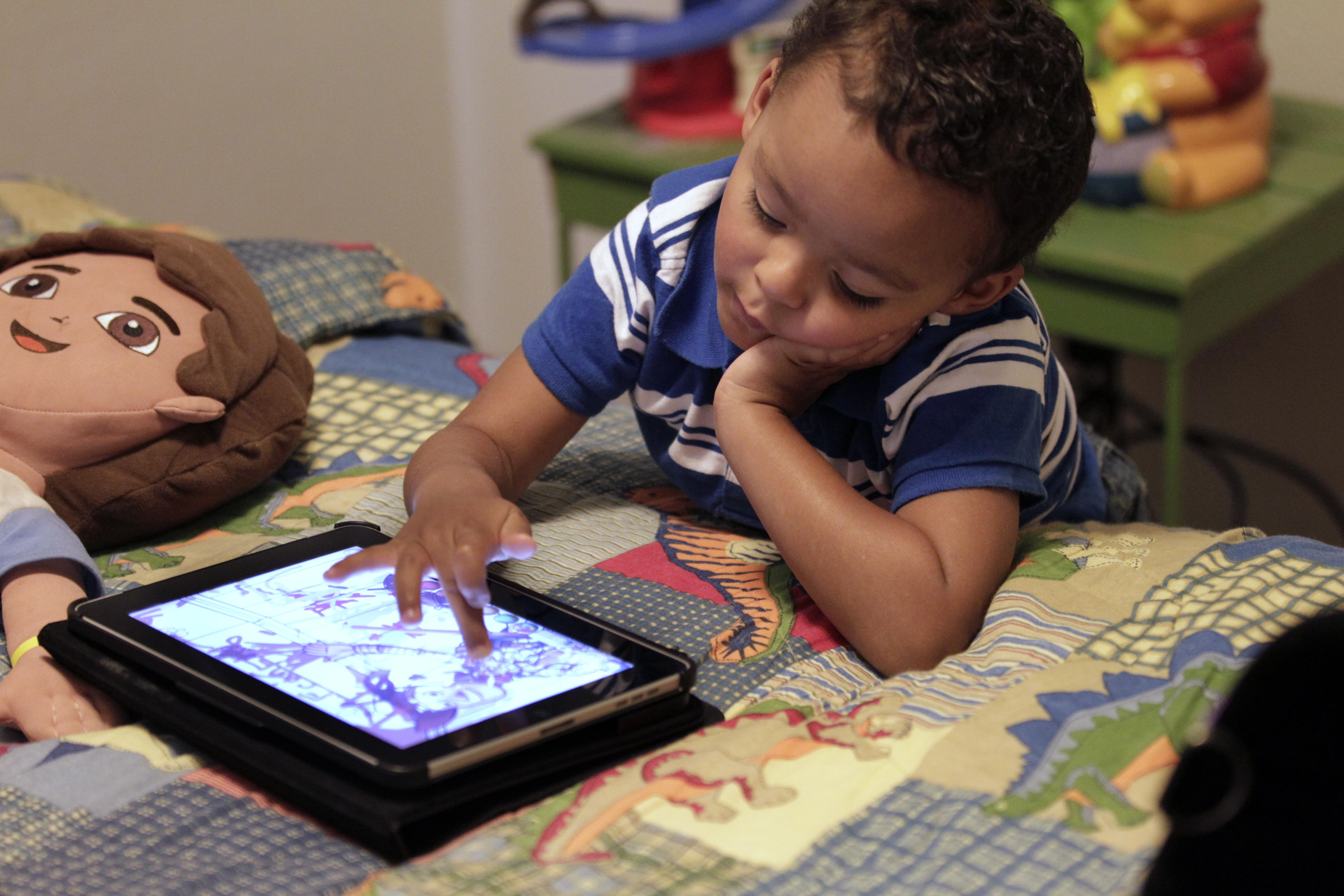 Research shows technology's influence on toddlers, teens