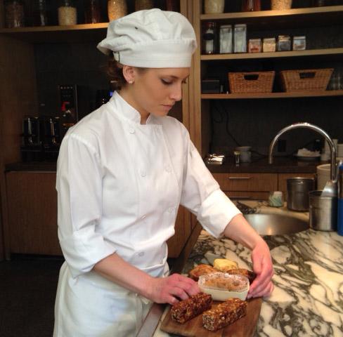 Pastry cook mixes up tasty gluten-free treats (Photos)