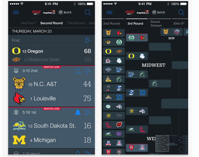 Not by a TV? Websites, apps help with March Madness viewing
