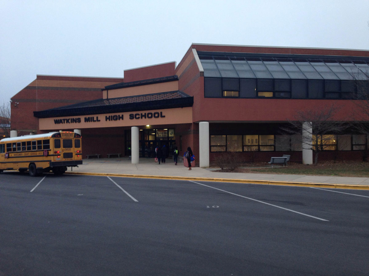 Watkins Mill High students to be tested for TB