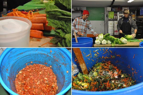 Making kimchi: A lesson from No. 1 Sons