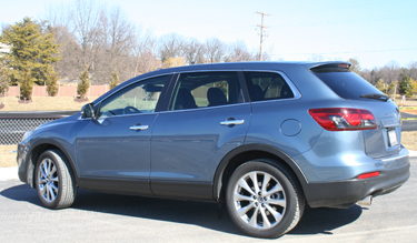 car report mazda cx 9 is a full suv that 39 s fun to drive wtop. Black Bedroom Furniture Sets. Home Design Ideas