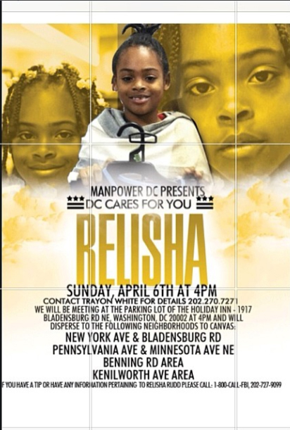 Residents searched for Relisha Rudd