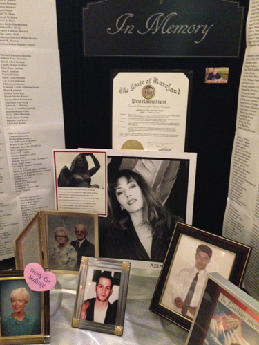 Maryland event remembers violent crime victims