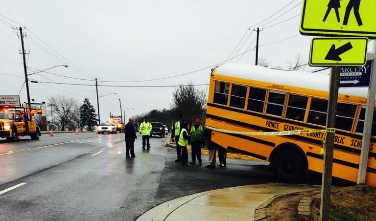 Boy, 8, struck by school bus in Prince George's Co.