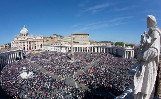 vatican easter