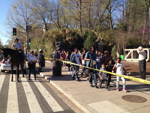 Two men shot near National Zoo