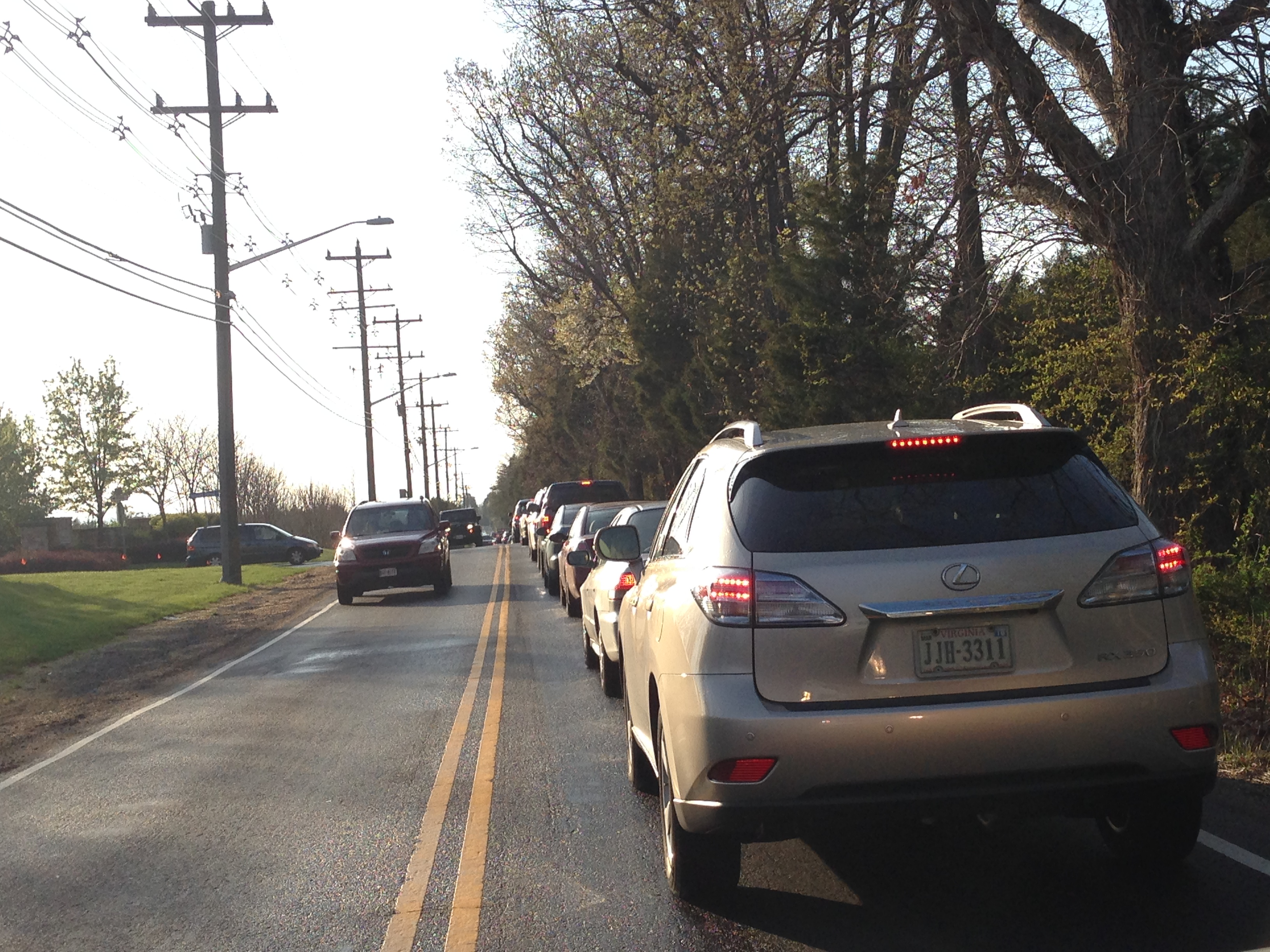 A once-spacious Loudoun County area tries to deal with traffic tie-ups