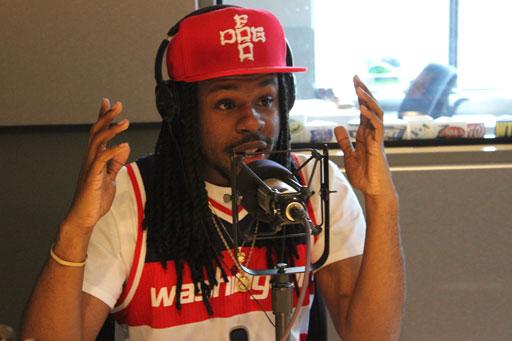 D.C. rapper Styme says he's a lucky charm