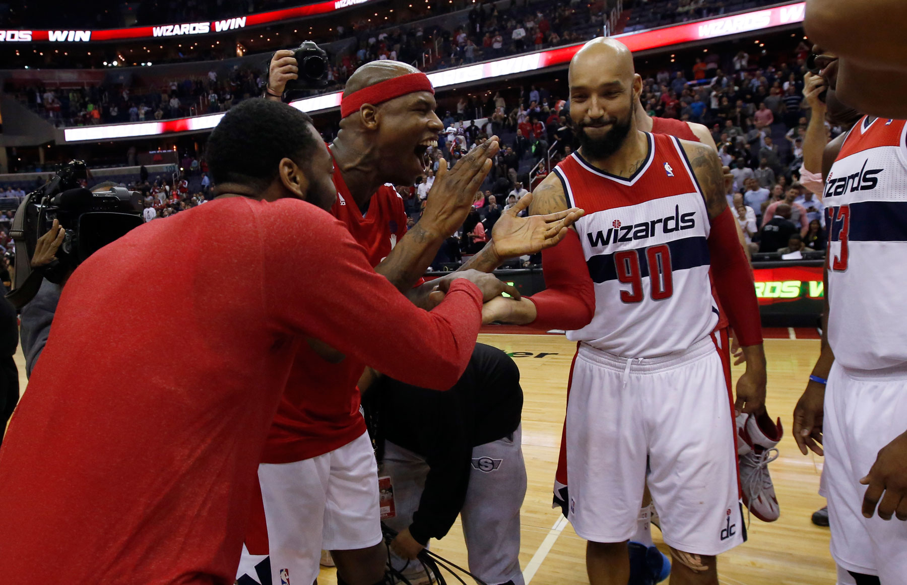 As Wizards return home, they want more