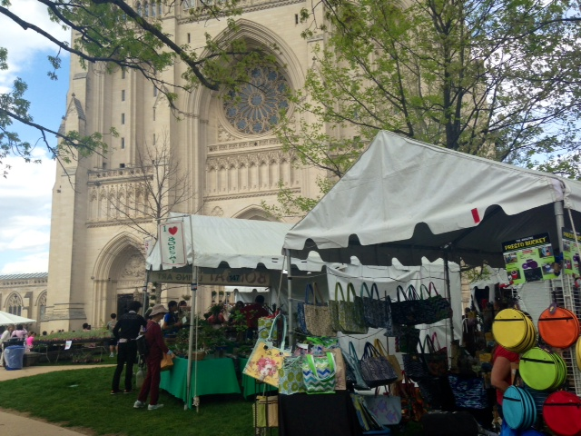 National Cathedrals' Flower Mart offers a climb above the blooms