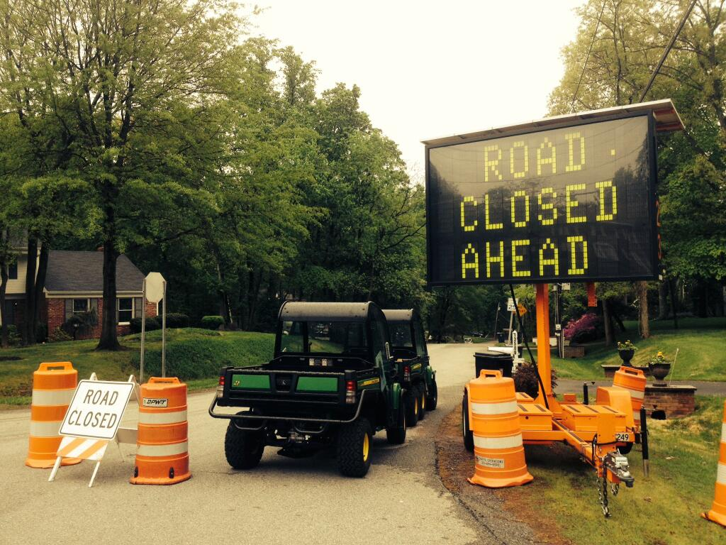 Piscataway Drive remains closed after partial road collapse