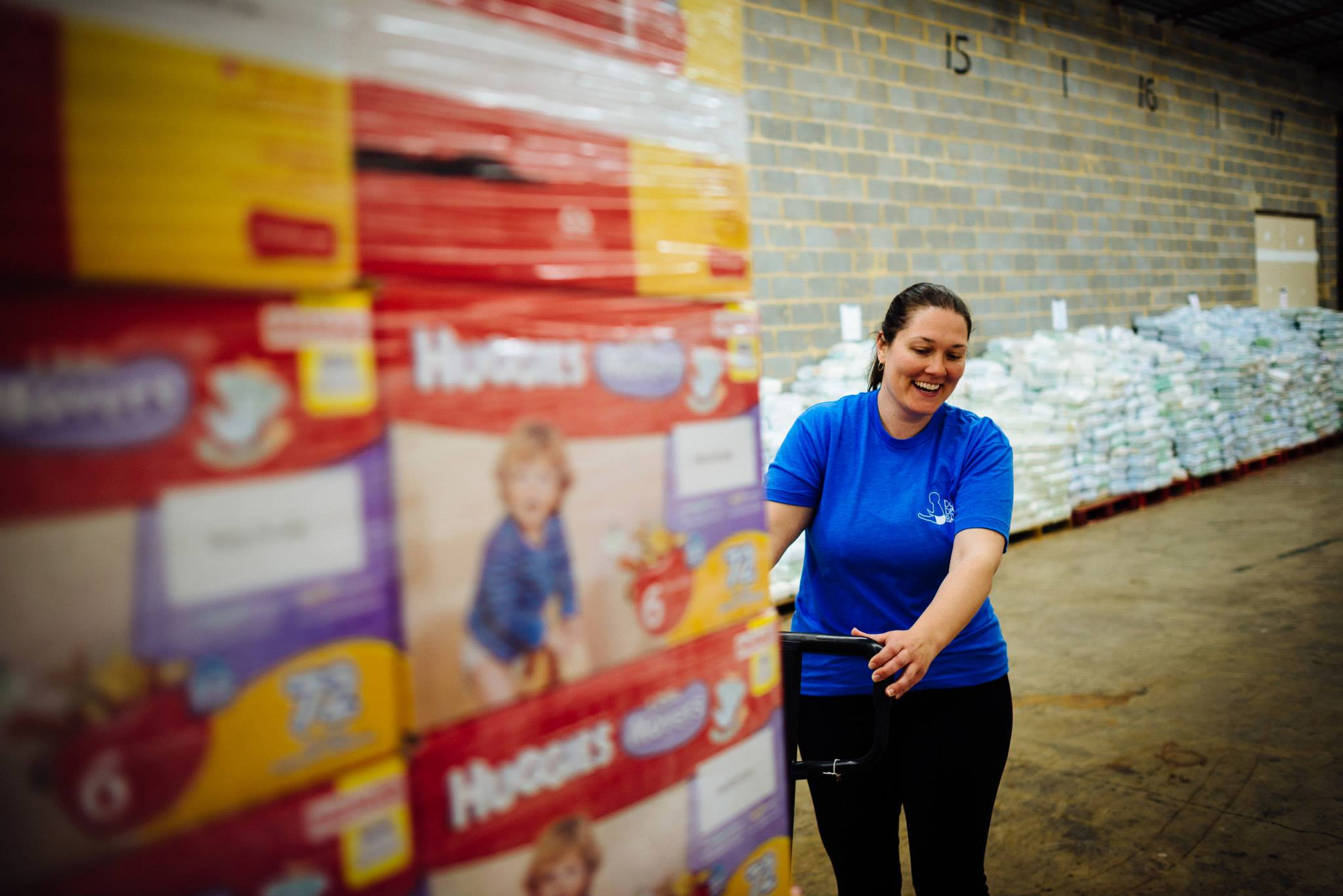 One mother helps thousands more with a common struggle: diapers