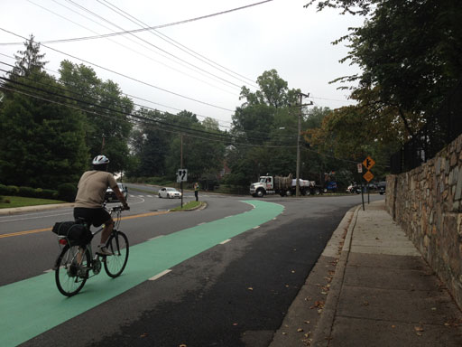 Some bumps and bruises as bicyclists, drivers learn to share road