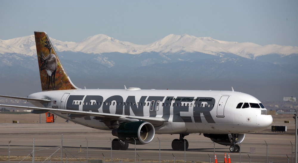 Frontier announces cheap fares for Dulles passengers