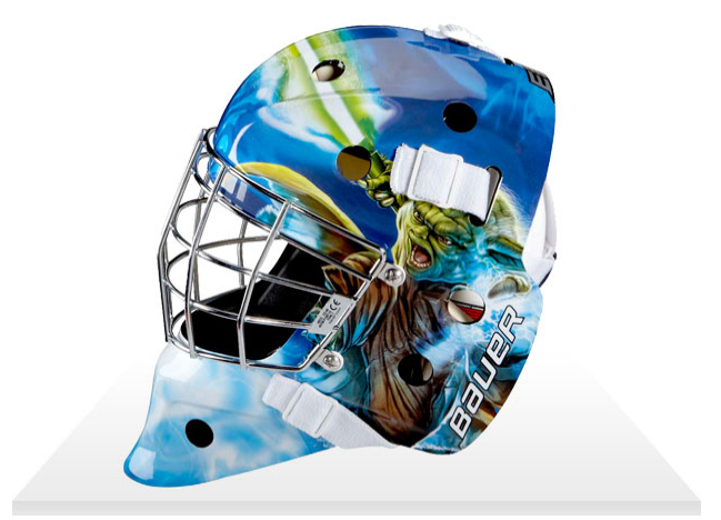May the saves be with you? Company introduces Star Wars-themed hockey masks