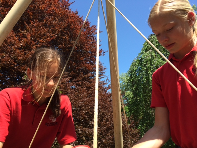 Students dig through Anne Arundel County history