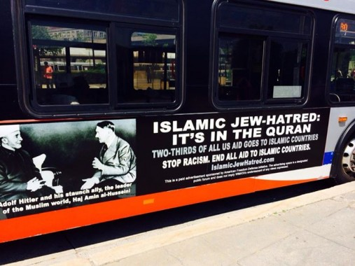 More anti-Islamic Metro bus ads on the way