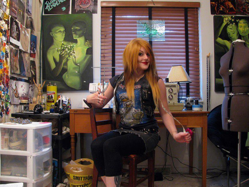 Kim 'Kylla' Dylla: Virginia's heavy metal seamstress