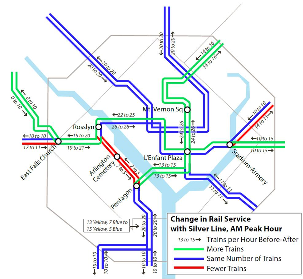 Metro riders: Get ready for changes ahead of Silver Line