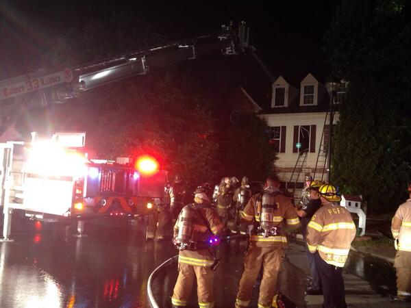 Body discovered in burning Bowie home