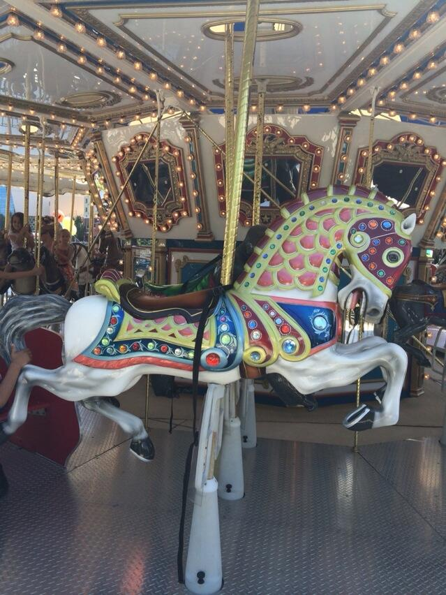 colorful new carousel opens in gaithersburg wtop. Black Bedroom Furniture Sets. Home Design Ideas