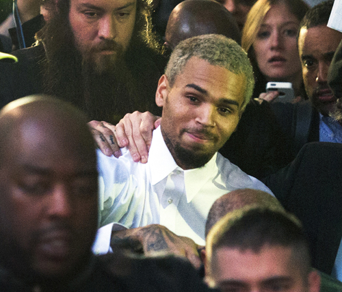 Chris Brown released in L.A., but still faces court in D.C.