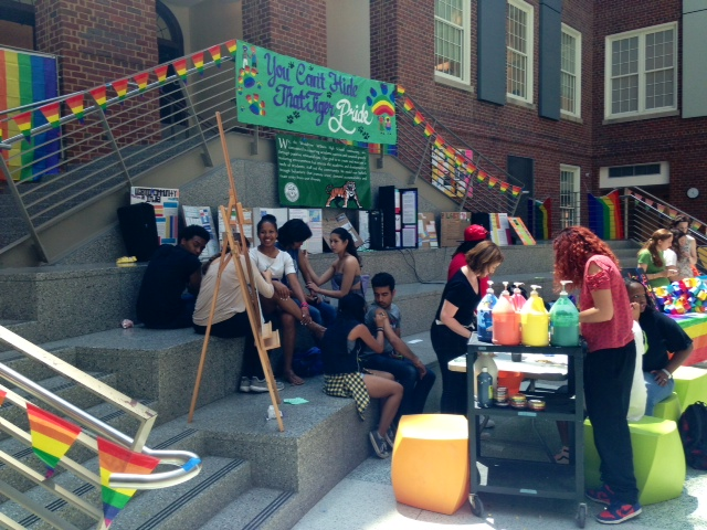 Principal comes out to students, staff at gay PRIDE assembly