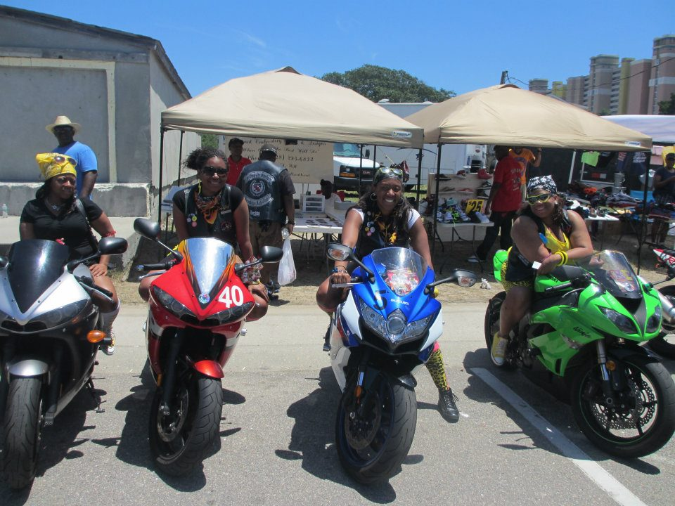 D.C.-area motorcycle group a place for women to ride, bond