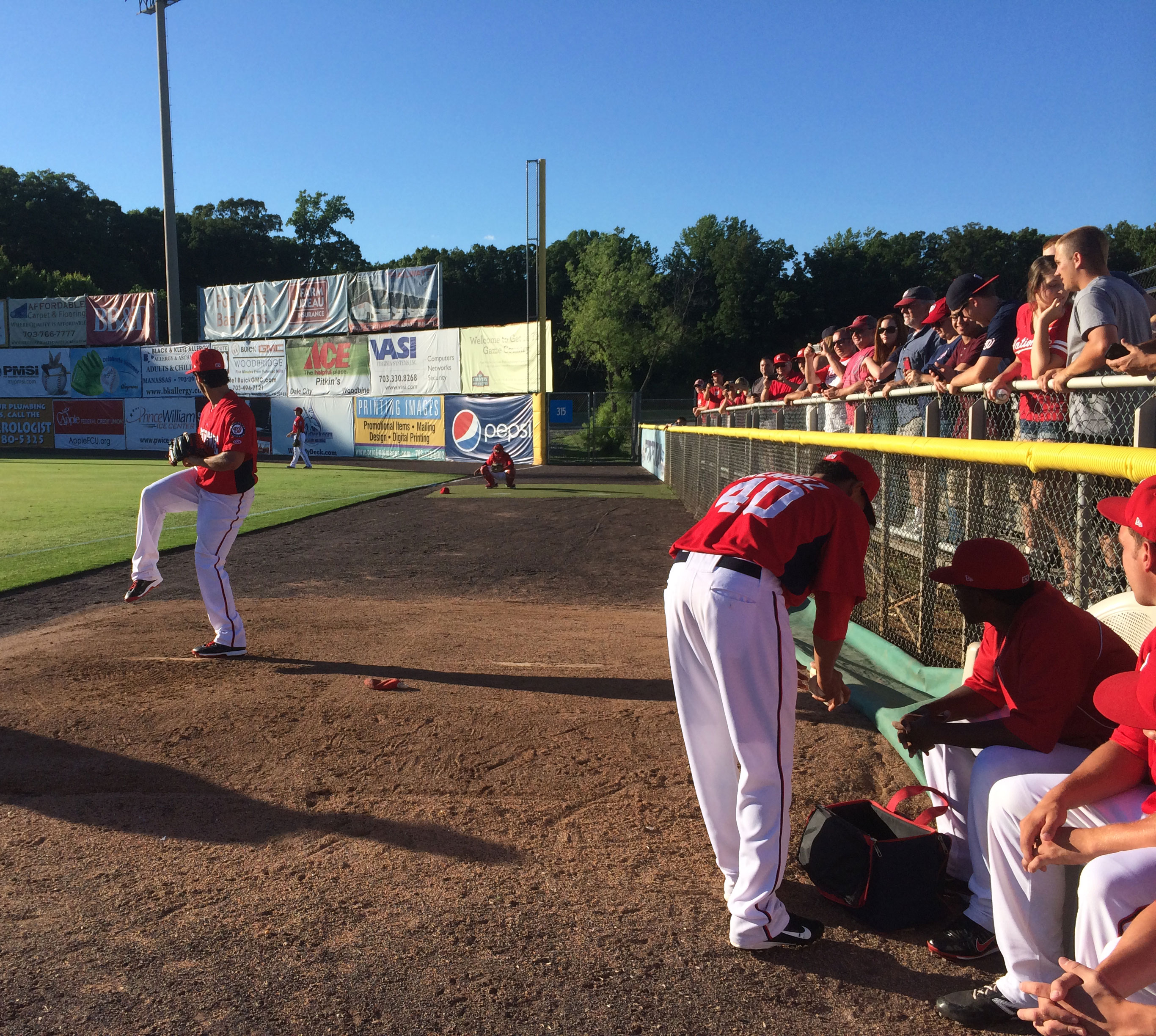 Gio Gonzalez stars in Woodbridge