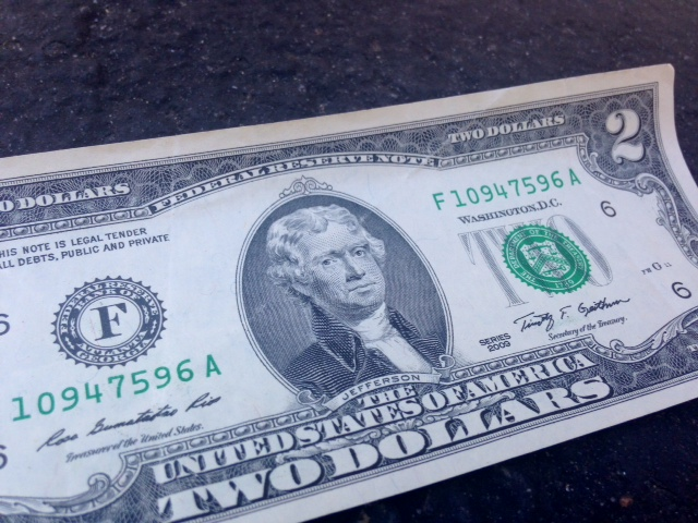 $2 bill mix-up on the Dulles Toll Road prompts change