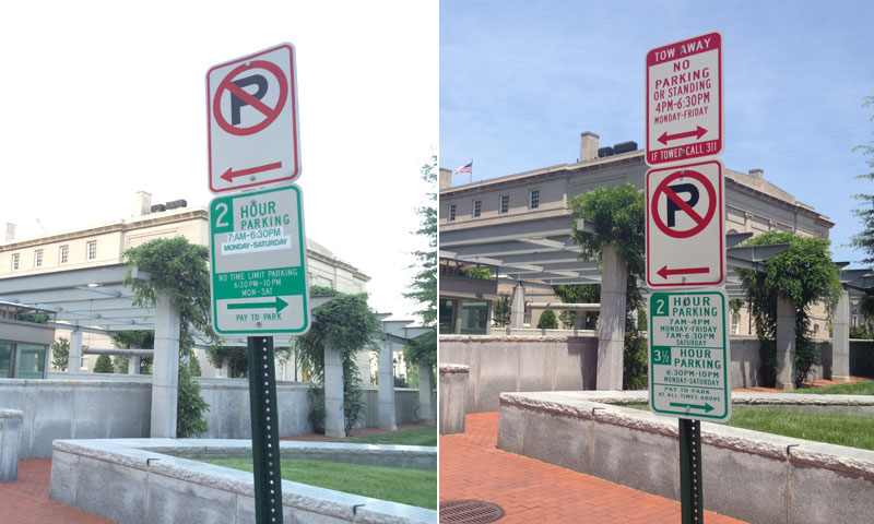 Conflicting parking signs in D.C.? Sorry, you're still guilty (Videos)
