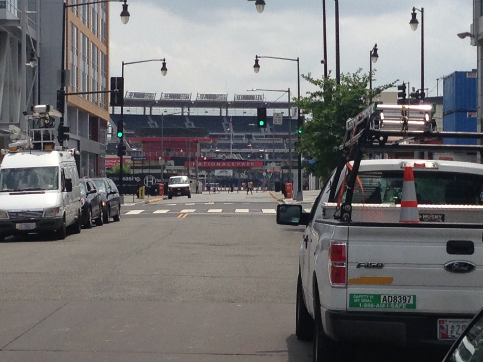 DDOT: No need to feed the meter outside Nationals Park on 4th