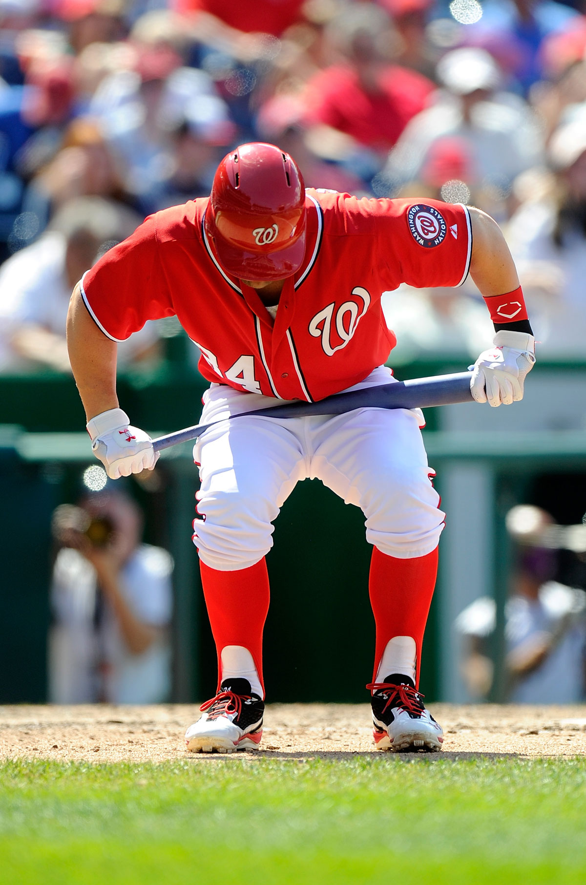 On the Nationals and extra innings