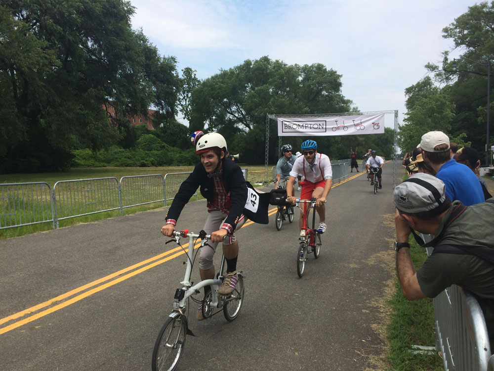 A different kind of bike race: The Brompton U.S. Championship